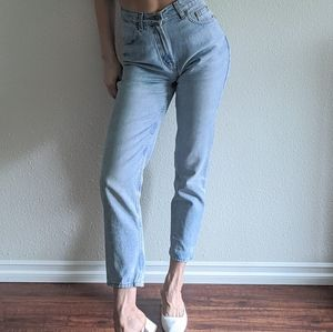 Vintage Old Navy high waist 100% cotton mom jeans